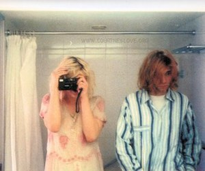 cobain, sweet, and Courtney Love image