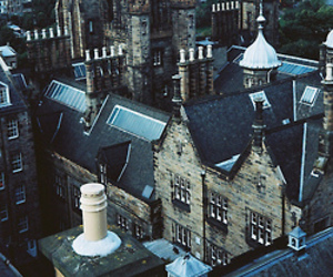 city, building, and scotland image
