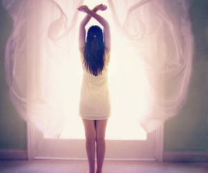 angel, sweet, and white image