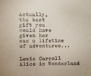 adventure, quotes, and alice in wonderland image