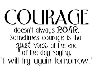 quotes, courage, and roar image