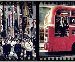 london, tokyo, and Londres image