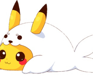 pikachu, kawaii, and cute image