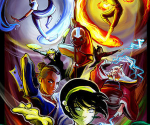 muse, avatar, and firebender image