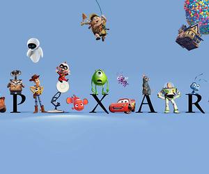 pixar, disney, and up image