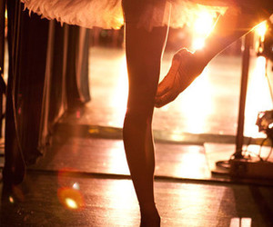 sunset and ballet image