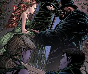 wedding, poison ivy, and clayface image