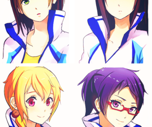 anime, free!, and female version image