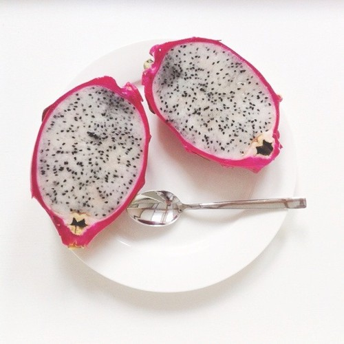 delicious, dragon fruit, and food image