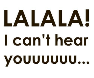 lalala, you, and text image