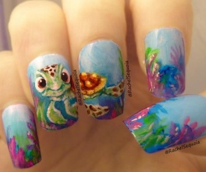 disney, finding nemo, and nails image