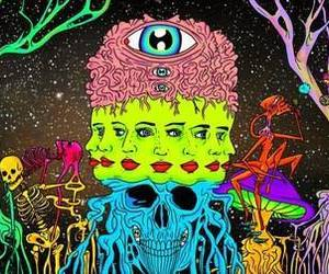 cool, dope, and psychedelic image