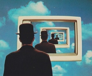 dope, magritte, and psychedelic image