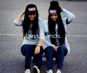 best friends, obey, and friends image