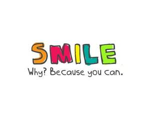 can, you, and smile image