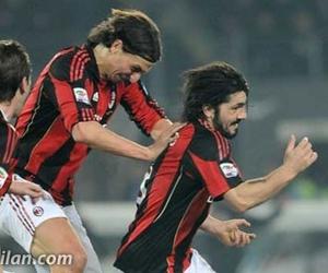 ibrahimovic, acmilan, and gattuso da ana image