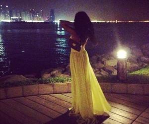 dress, yellow, and luxury image