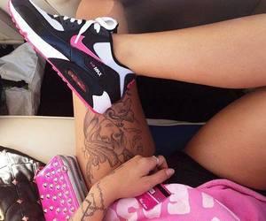 airmax nike tatto pink image