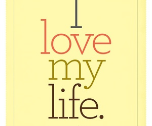 quote, life, and love image