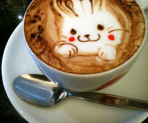 coffee and bunny image