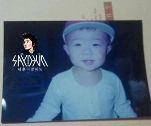 exo, sehun, and baby image