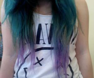 hair, nirvana, and girl image