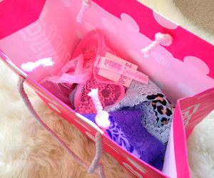 pink, Victoria's Secret, and fashion image