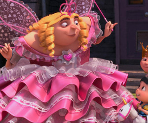 GRU, despicable me, and fairy image