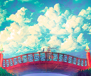 anime and scenery beautiful anime image