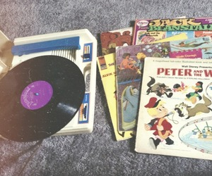 music, photography, and record player image