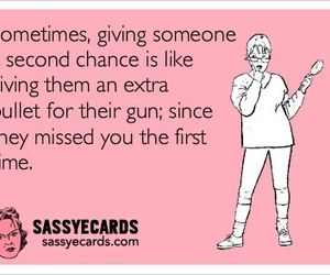 ecards, funny, and nochances image
