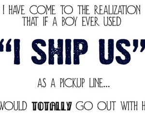 ship, funny, and fangirl image