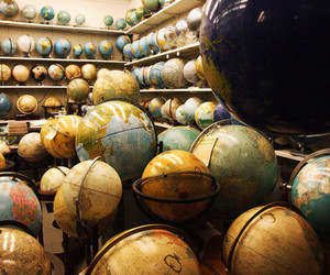 globe, photography, and spheres image