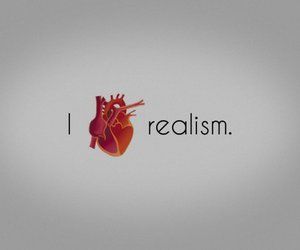 heart, realism, and love image