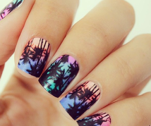 nails, nail polish, and cool image