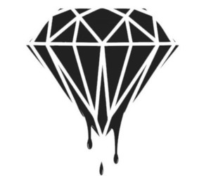diamond and black image