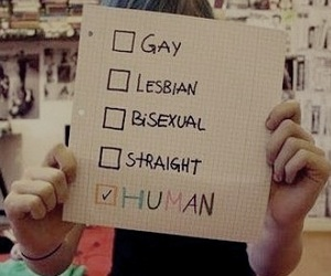 human, straight, and bisexual image