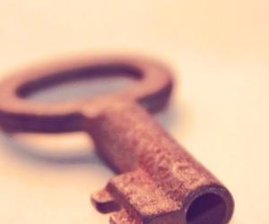 key and old image