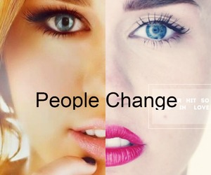 miley cyrus, change, and miley image