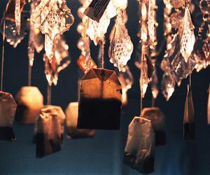 tea, light, and chandelier image