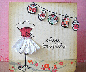 card, inspiration, and pink image