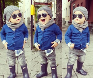 fashion, love, and kids image