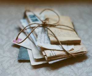 letters, vintage, and Letter image
