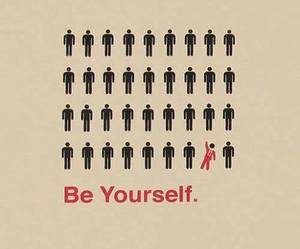 quote and be you image