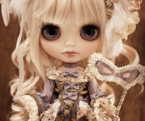 doll, beautiful, and blythe image