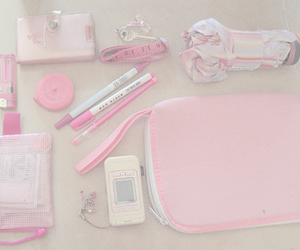 pink, pale, and set image
