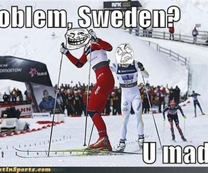 norway, olympics, and sweden image