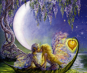 love, art, and fairy image