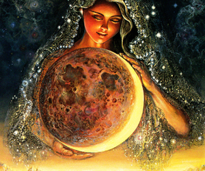 celestial, goddess, and moonbeams image