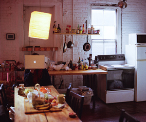 apple and kitchen image